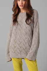 Kaelen Wallace Crew Neck Sweater - Lyst