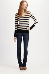 Marc By Marc Jacobs Jasmine Striped Sweater - Lyst