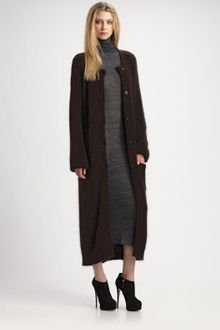 Surface To Air Bedrock Mohair Knit Coat - Lyst