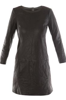Theory Leather Dress - Lyst