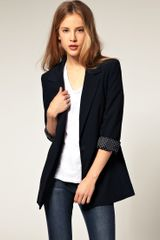 ASOS Collection Asos Boyfriend Blazer - Lyst
