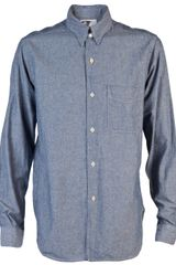 Engineered Garments Work Shirt in Blue for Men - Lyst