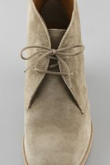 Madewell The Suede Sandstorm Boot in Gray (sand) - Lyst