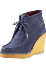 Marc Jacobs Wedge Ankle Boot - Lyst