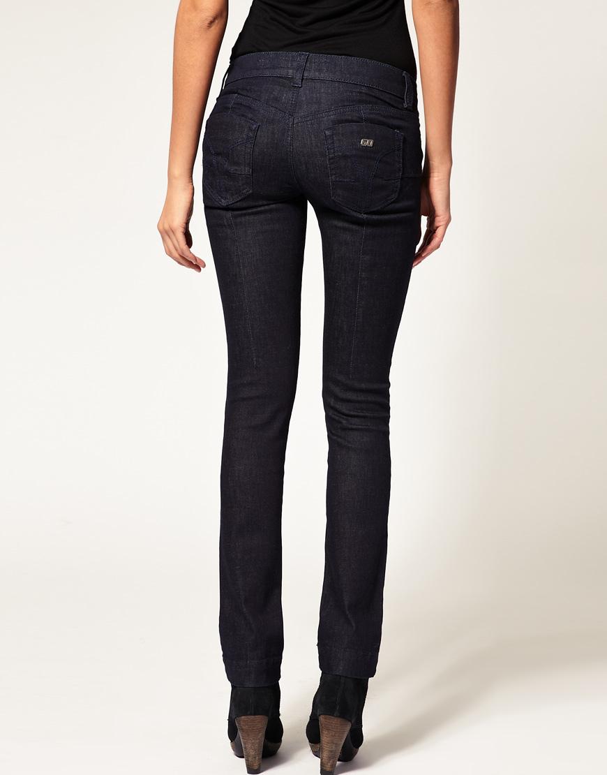 Miss sixty Magic Bum Lift Jean in Black | Lyst