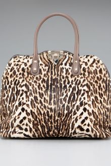 Valentino Rockstud Animal-print Dome Bag - Lyst