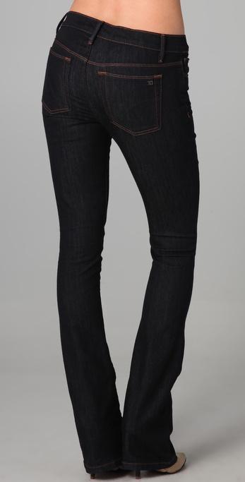 Joe's jeans Petite Micro Flare Skinny Jeans in Black | Lyst