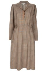 Lanvin Vintage Long-sleeved Dress - Lyst