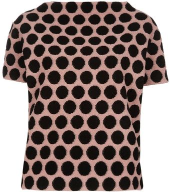 Marc Jacobs Dot Top - Lyst