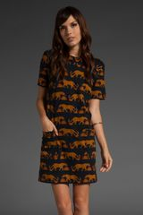 Marc By Marc Jacobs Panthera Dress - Lyst