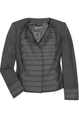 Alberta Ferretti Wool-blend Cropped Jacket - Lyst