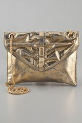 Be & D Metallic Tenley Cross Body Bag - Lyst