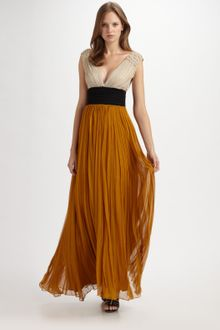 By Malene Birger Emeline Pleated Gown - Lyst
