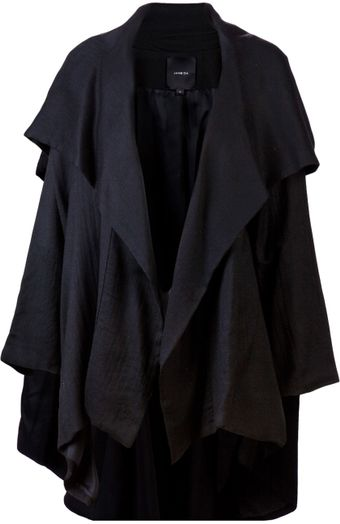Jane Oh Hooded Cape - Lyst