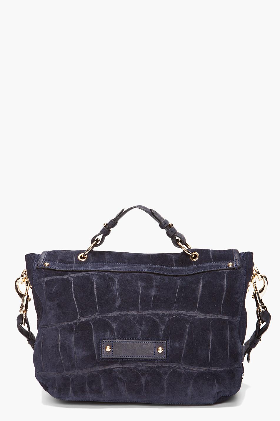 Lyst - Mulberry Tillie Satchel in Blue c1af209135022