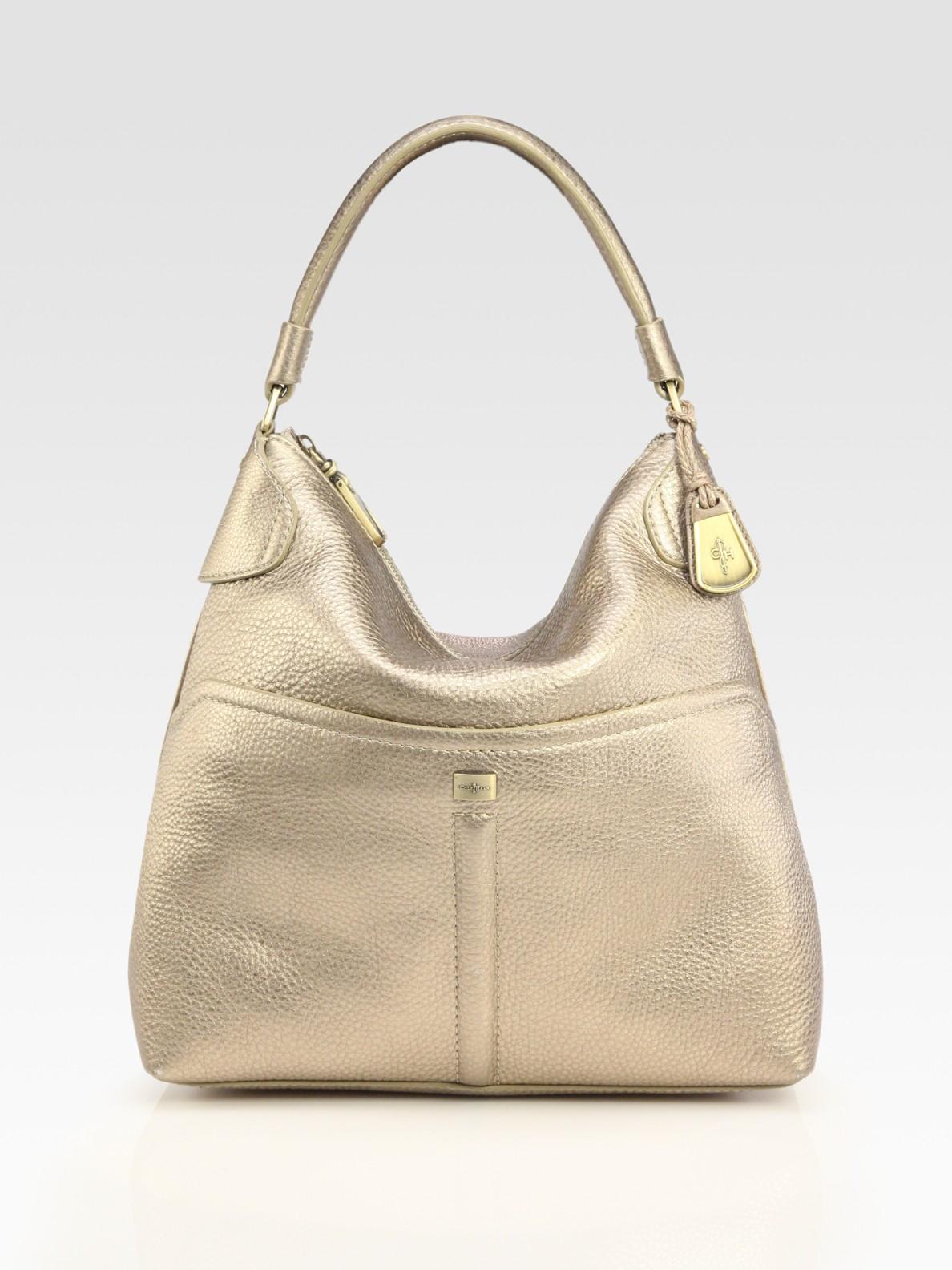 Cole Haan Avery Medium Hobo Bag In Metallic Lyst