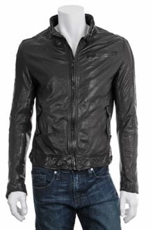 Rogue Leather Motorcycle Jacket - Lyst