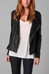 Veda Stevie Leather Jacket - Lyst