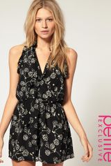 ASOS Collection Asos Petite Exclusive Playsuit with Dandylion Star Print - Lyst