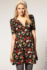 ASOS Collection Asos Maternity Dress in East Village Poppy Print - Lyst