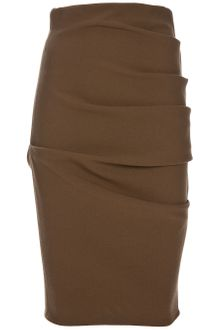 La Petite Salope Stretch Gathered Skirt - Lyst