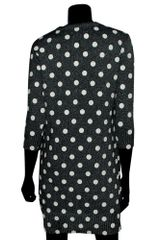 Markus Lupfer Rubber Polka Dot Dress in Black (charcoal) - Lyst