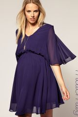 ASOS Collection Asos Maternity Chiffon Kaftan Dress - Lyst