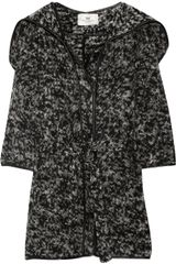 Day Birger Et Mikkelsen Hooded Wool-blend Cardi-coat - Lyst