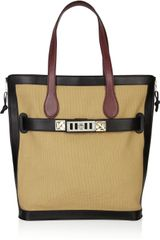 Proenza Schouler Ps11 Canvas and Leather Tote - Lyst