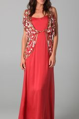 Temperley London Long Sefarina Dress - Lyst