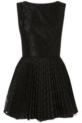 Topshop Vivienne Dress By Jones and Jones** in Black - Lyst
