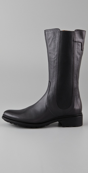 Lyst Hunter Darby Mid Calf Boots In Gray