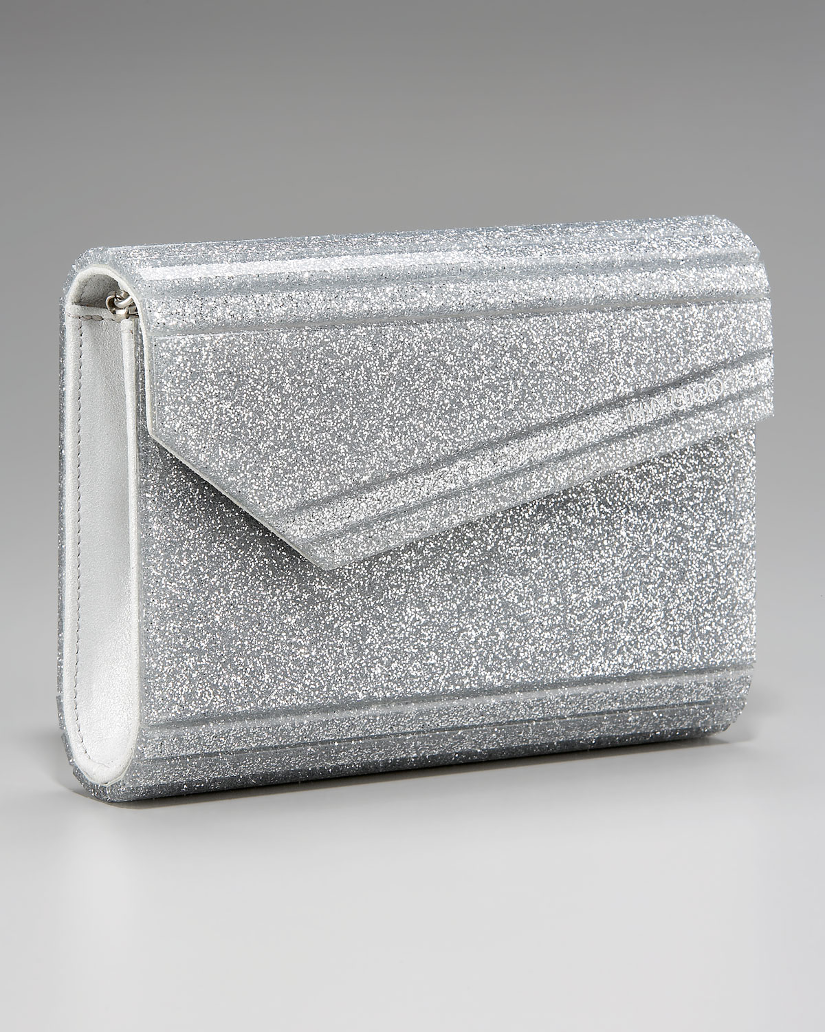 aliexpress good selling cheapest price Jimmy Choo Metallic Candy Glitter Clutch