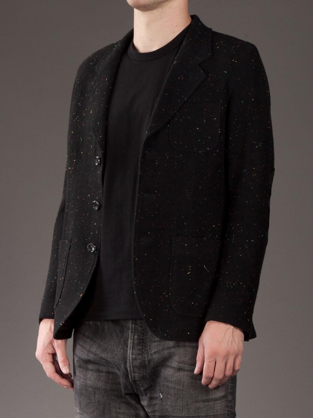 000d8f4bfd32 in in in Lyst Japan Men Blazer Black Black Black Black Unstructured for  Mastermind S4ZAUW