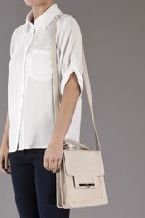 Victoria Horning Accordian Bag in Beige - Lyst