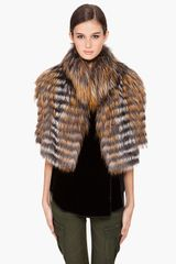 Haute Hippie Fox Fur Jacket - Lyst