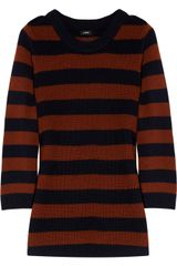 J.Crew Haylen Striped Wool Sweater - Lyst