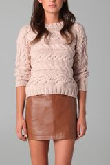 Jenni Kayne Cable Sweater - Lyst