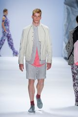 Richard Chai Spring 2012 Gray Shorts in Gray for Men - Lyst