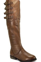 Steve Madden Miidori - Cognac Leather Over The Knee Boot - Lyst