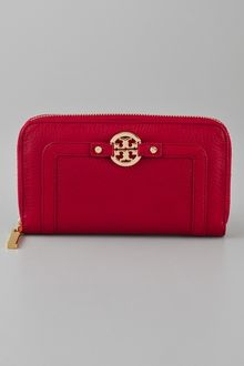 Tory Burch Amanda Zip Continental Wallet - Lyst