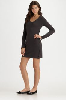 Twisted Heart Whitney V-neck Dress - Lyst