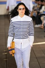 Tommy Hilfiger Spring 2012 Striped White Shirt - Lyst