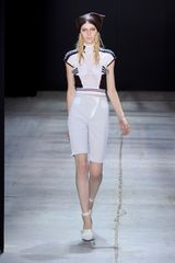 Alexander Wang Spring 2012 Cap Sleeved Top in White - Lyst