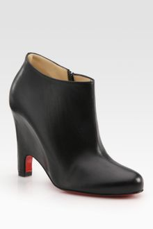 Christian Louboutin Morphing Leather Ankle Boots - Lyst