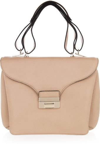 Valentino Leather Tote - Lyst