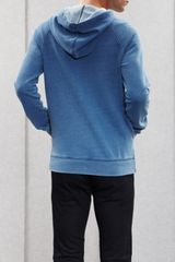 Acne College Hood I Aw11 in Blue for Men - Lyst