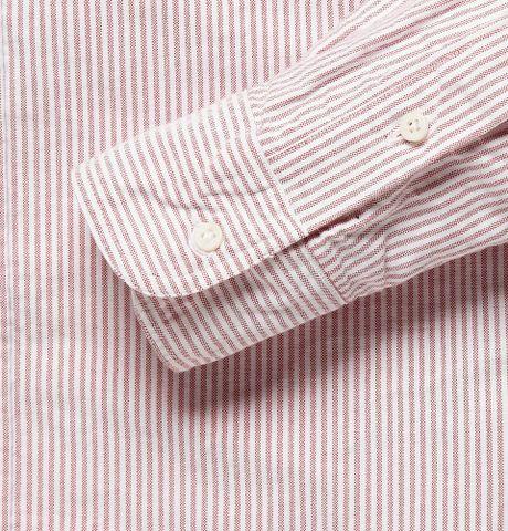 Pink Oxford Shirt Shirt in Pink For Men