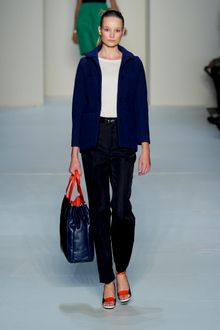 Marc By Marc Jacobs Spring 2012 Black Pants - Lyst