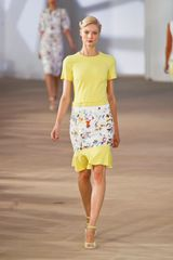 Preen Spring 2012 Yellow TeeShirt in Yellow - Lyst